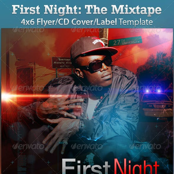 Mixtape/Album/Flyer: First Night