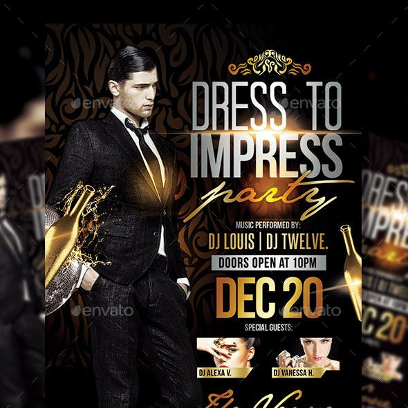 Dress to Impress | Flyer Template