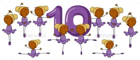 Number Ten - People Characters