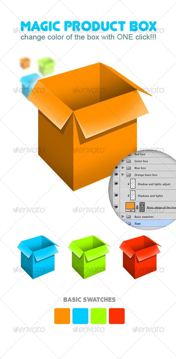 Magic Product Box! - Miscellaneous Web Elements