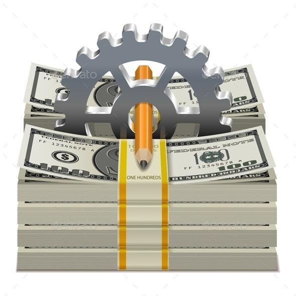 Vector Starting Capital Concept - Business Conceptual