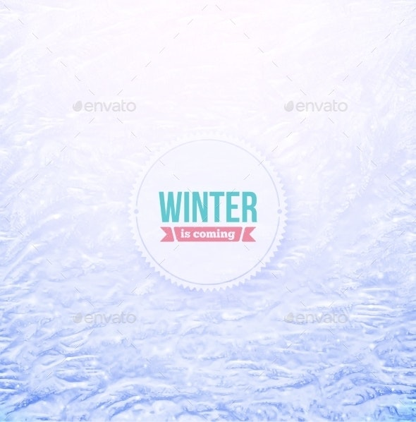 Snowy Background - Seasons Nature