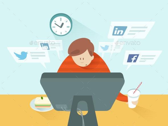 Social Media at Lunch - Media Technology