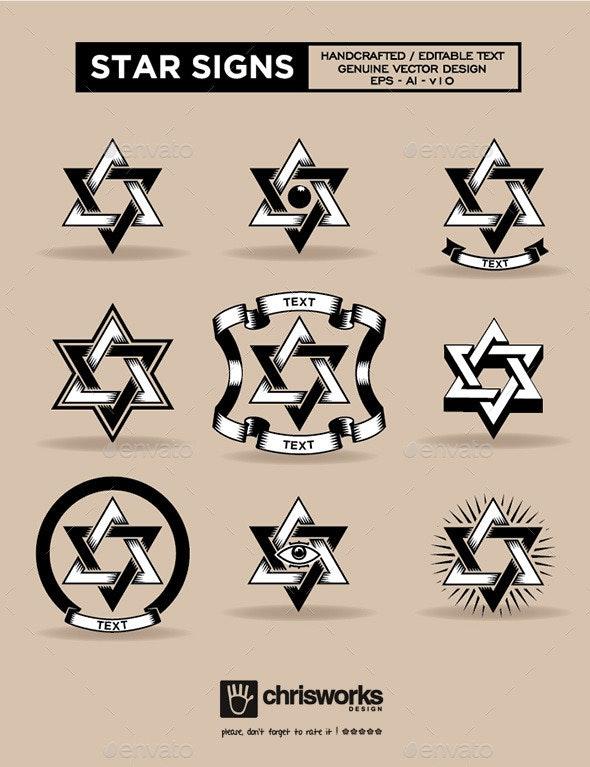 Star Signs - Religion Conceptual