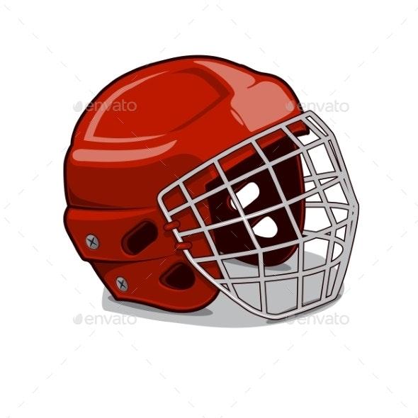 Hockey Protection Helmet - Sports/Activity Conceptual