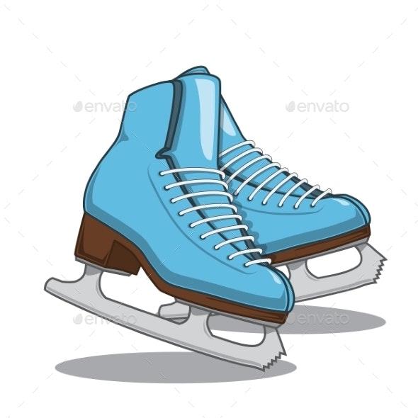 Skates - Sports/Activity Conceptual