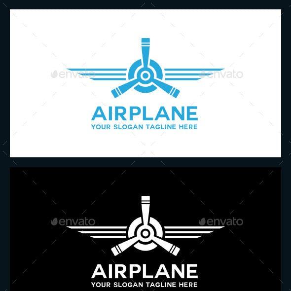 AirPlane Logo Template