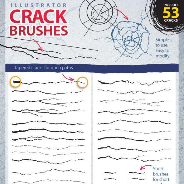 AI Crack Brush Set