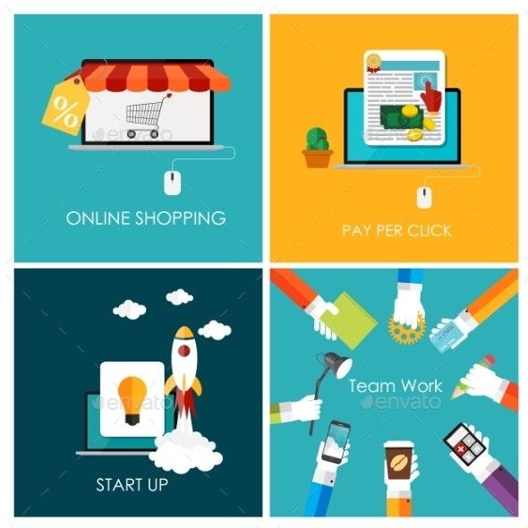 Pay Per Click, Online Shopping, Business Start Up - Web Technology
