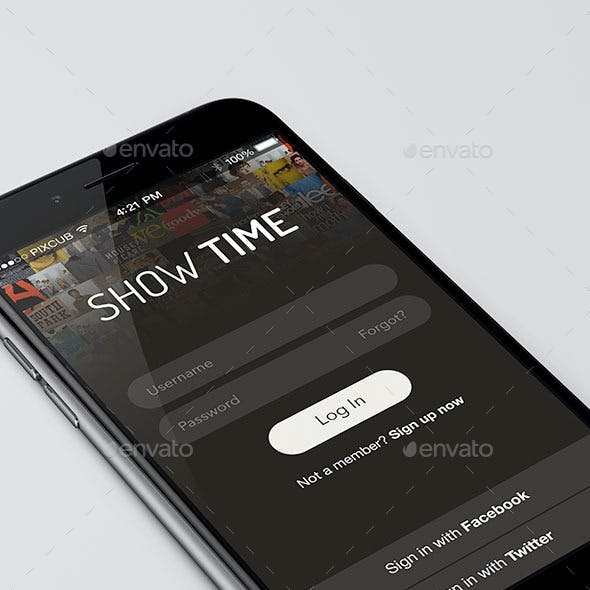 Show Time iPhone App