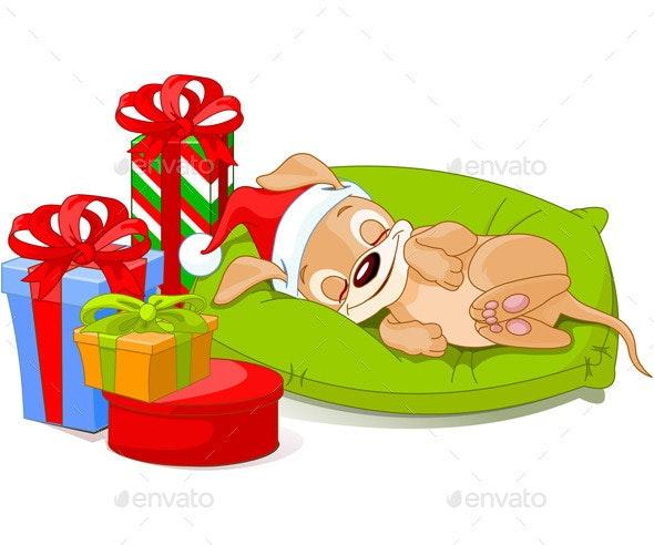 Christmas Puppy - Christmas Seasons/Holidays