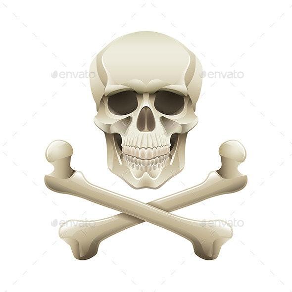 Skull and Crossbones - Miscellaneous Vectors