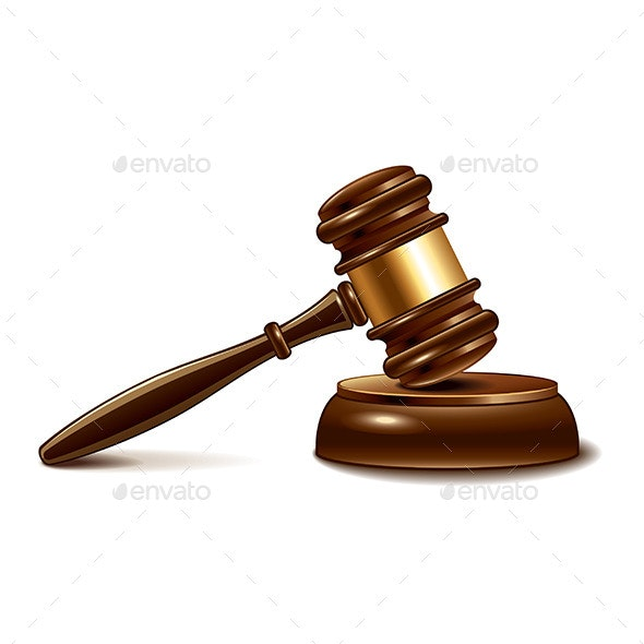 Judge Gavel  - Miscellaneous Vectors