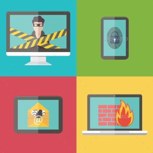 Internet Security, Hacker, Virus Protection  - Computers Technology