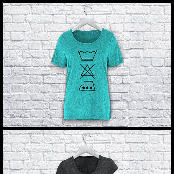 Ladies T-Shirt Mockup
