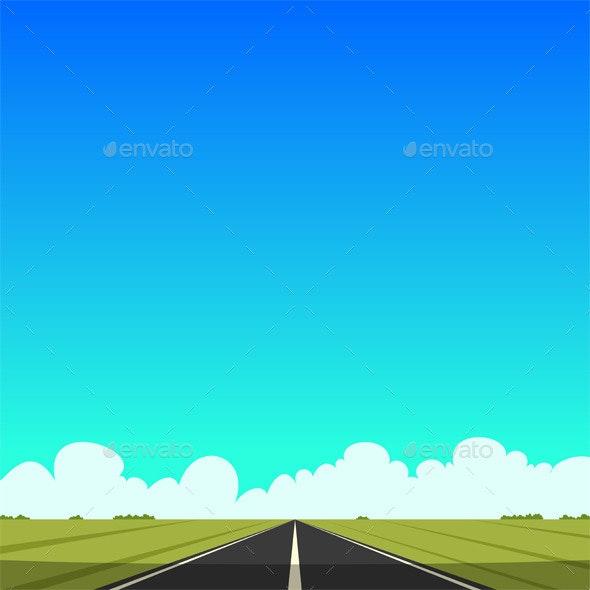 The Road - Travel Conceptual