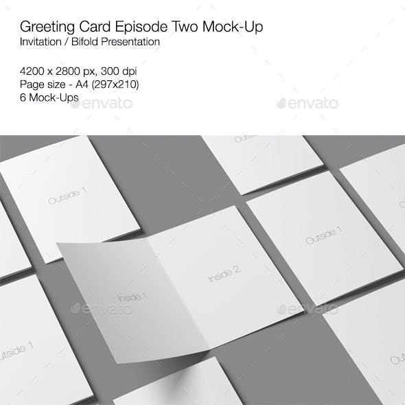 Greeting Card Episode Two Mock-Up