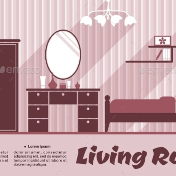 Living Room Flat Interior