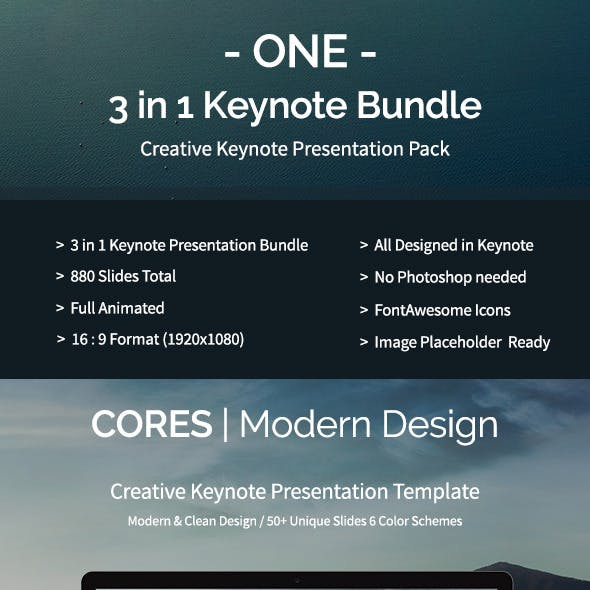3-in-1 Keynote Bundle Vol. 1