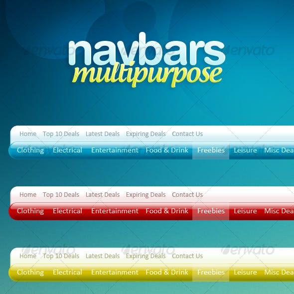 Multipurpose Navigation Menus
