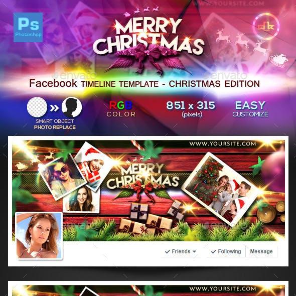 Christmas Facebook Timeline Cover 2