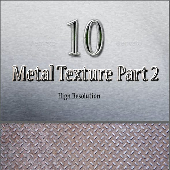 10 Hight Resolution Metal Textured Part 2