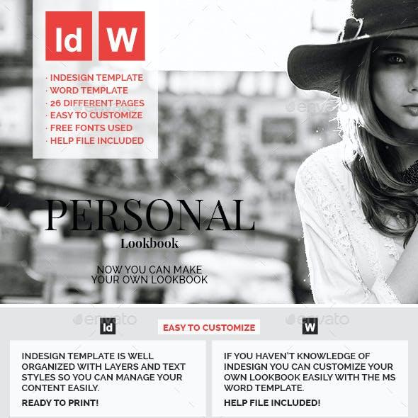 Personal Lookbook