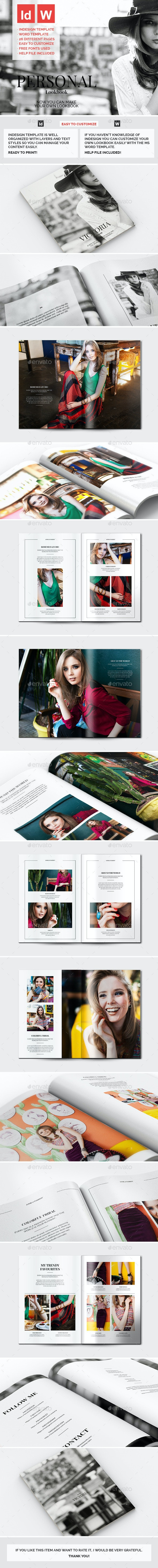 Personal Lookbook - Catalogs Brochures