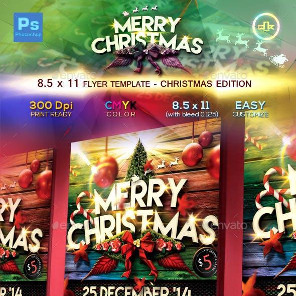 Christmas Flyer Template (8.5x11)
