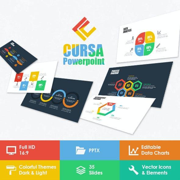 Cursa Powerpoint Template