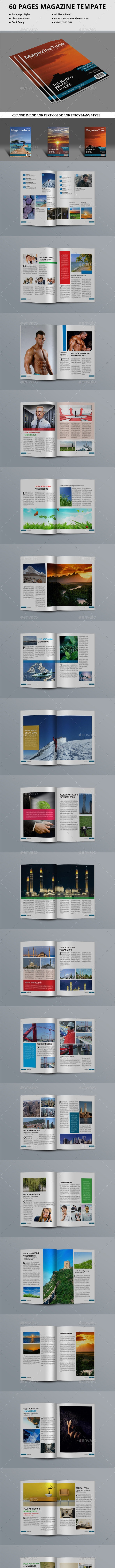 24 Best Magazine Templates  for March 2019