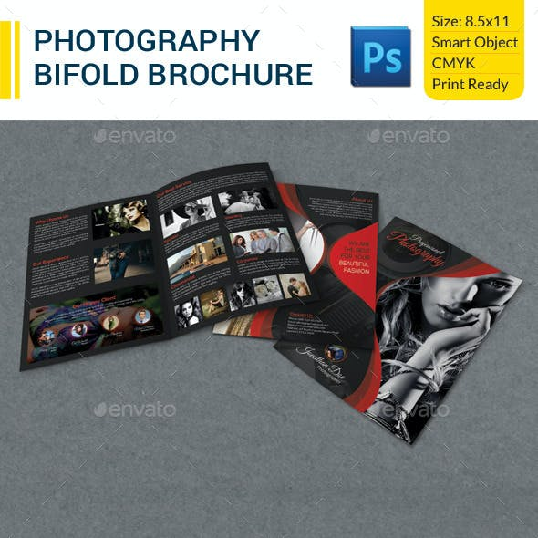 Photography Bifold Brochure