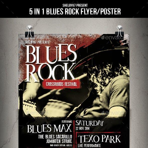 Blues Rock Flyer / Poster