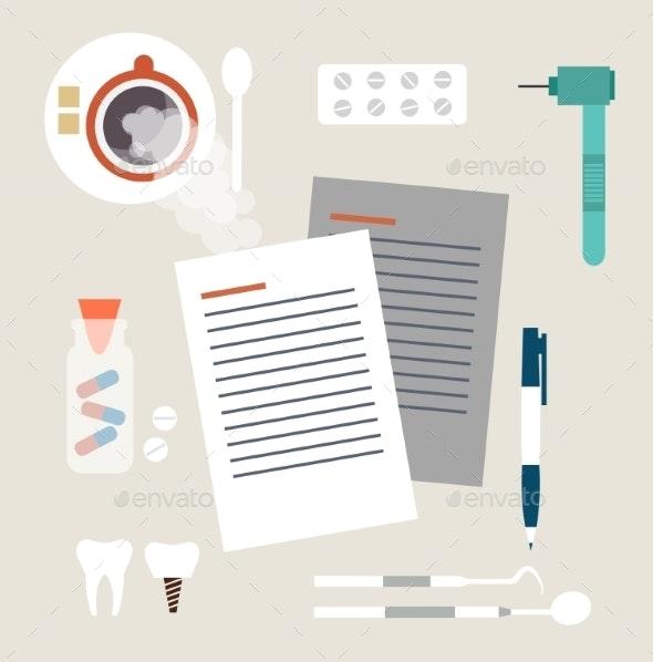 Dentist  - Health/Medicine Conceptual