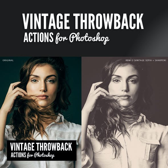 Vintage Throwback Actions