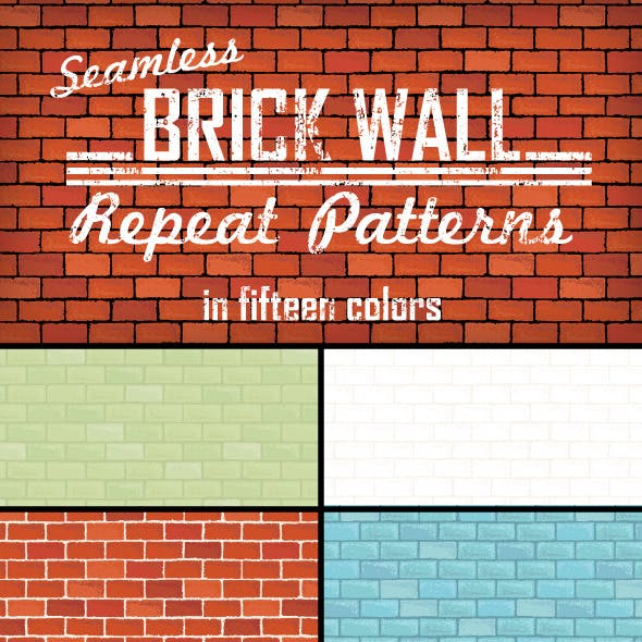 Brick Wall Repeat Patterns