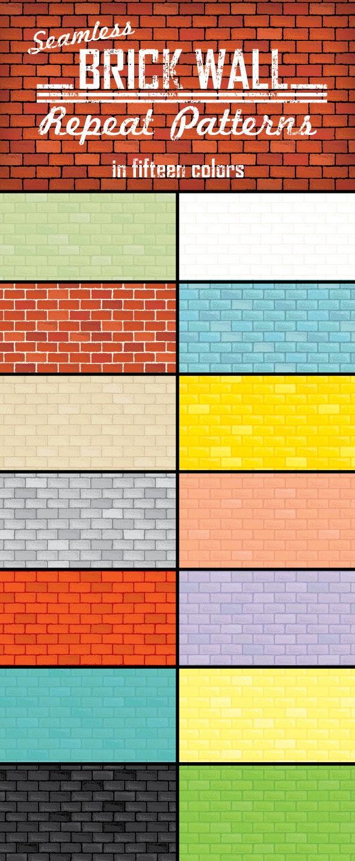 Brick Wall Repeat Patterns