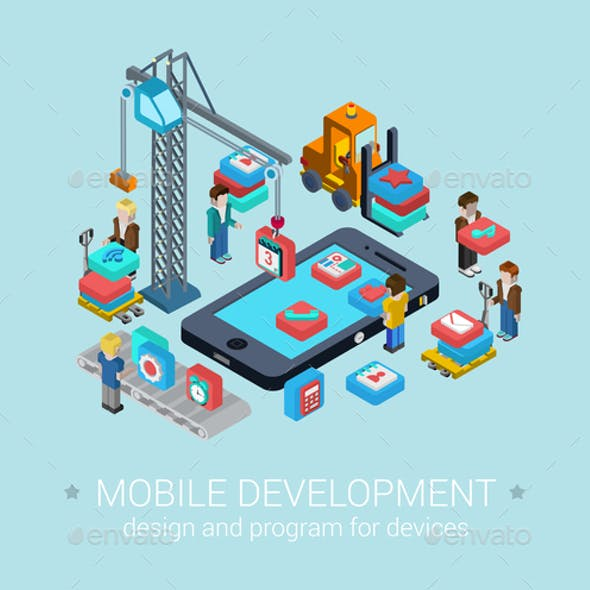 Mobile Development Concept