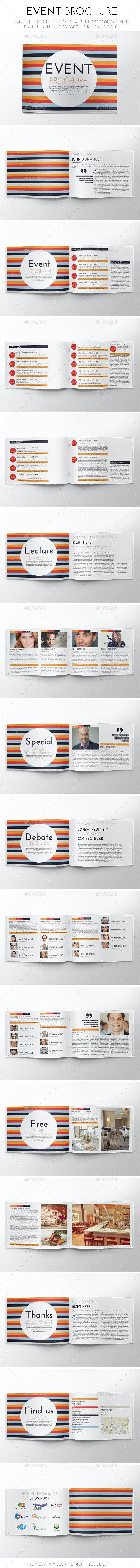 Event Brochure Template - Brochures Print Templates