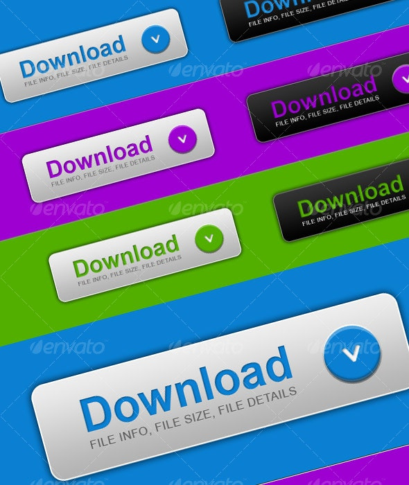 Download Buttons 2.0 - Buttons Web Elements