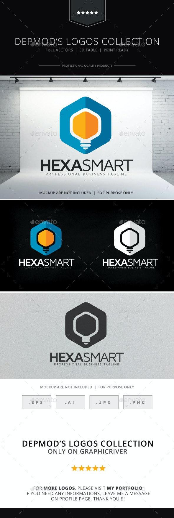 Hexa Smart Logo - Symbols Logo Templates