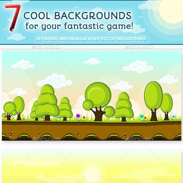 Game Backgrounds Set