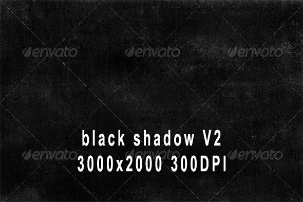 Black Shadow Grunge Texture V2 - Industrial / Grunge Textures