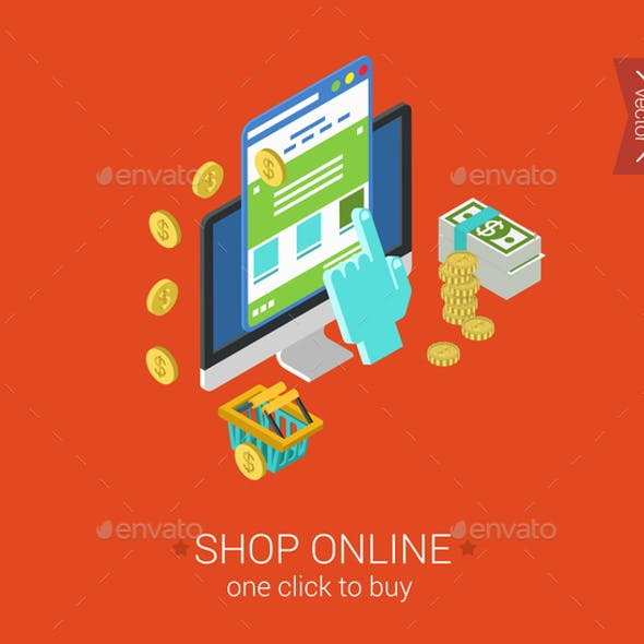 Shop Online Concept