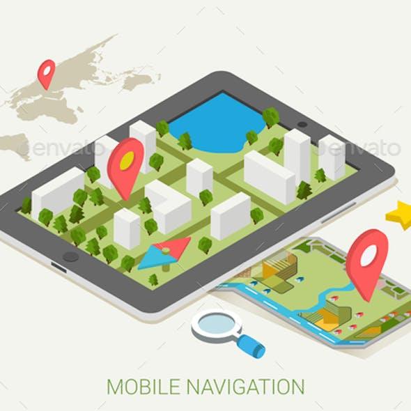 Mobile Navigation Concept