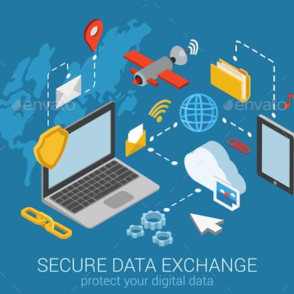 Secure Data Exchange Concept