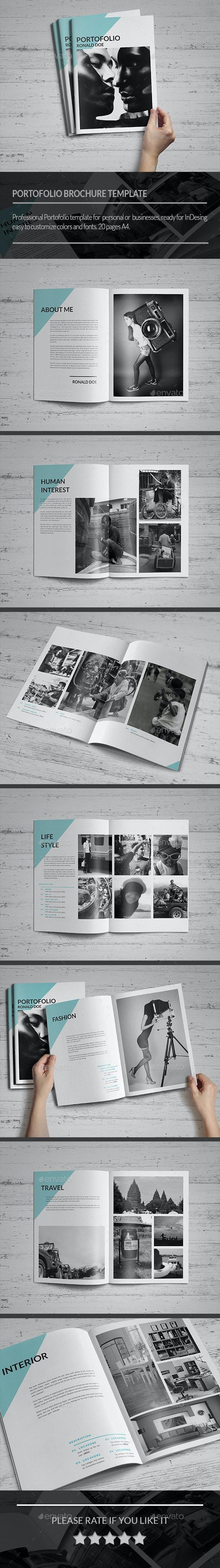 Clean Portofolio Brochure - Portfolio Brochures