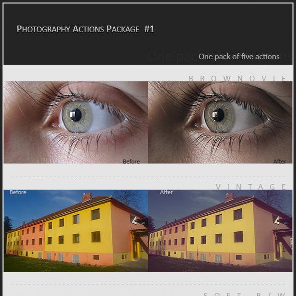 Photography Action Package #1