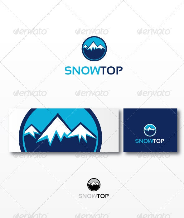 Snowtop - Nature Logo Templates