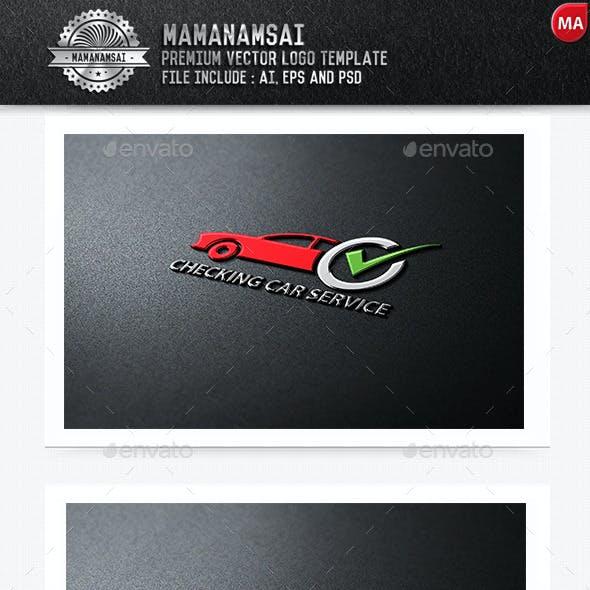Checking Car Service Logo